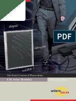 CATÁLOGOS Painel Fotovoltaico Alto Rendimento WURTH SOLAR WS11002 12V 12W[1]