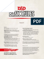 D&D 5th Edition Players Handbook