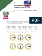 Matemática SImce, 4° n°1_mediciones de tiempo