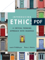 McBrayer and Markie Introducing Ethics a Critical Approach With Readings File 5 of 18