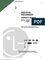 Rh266 LG HDD Recorder