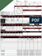ICharacter Sheet