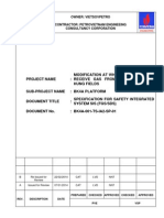 BK4A-001-TS-IA2-SP-01_B_Specification for Safety Integrated System SIS _FGS-SDS_ Markup