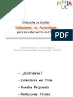 Seminario Internacional Estándares de Aprendizaje Magdalena Moreno PENTA UC
