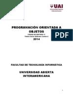11 GUIAS Programación Orientada a Objetos (Cardacci 2014)