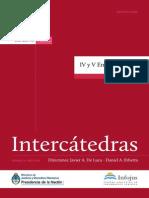 Libro Intercátedras II