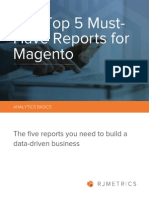 The Top 5 Must Have Magento Reports