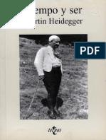 Heidegger, Martin - Tiempo y Ser