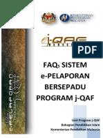 Faq Sistem E-pelaporan Bersepadu Program J-qaf (Update 21042014)