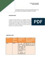 Informe Numero 6 La Nariz Del Cafe