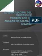 Automatización Del Proceso de Troquelado de Anillas De