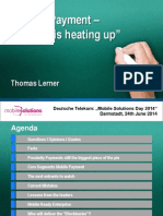 Mobile Payment - The Race is Heating Up by Thomas Lerner at Mobile Solutions Day Deutsche Telekom 24th June 2014