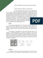 Conexiones en Acero y Elementos Estructurales en Madera