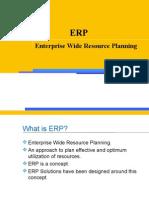 Enterprise Wide Resource Planning