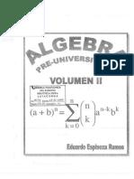 Espinoza Ramos Eduardo - Algebra Pre Universitaria 2