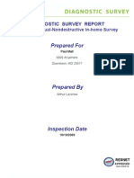 Sample Diagnostic Report