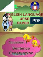 Teknik Menjawab UPSR Bahasa Inggeris