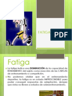Clase 6 21 Abril 2014 Fatiga Sobreentrenamiento Recuperacion