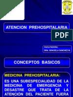 Atencion Prehospitalaria. Conceptos Basicos.
