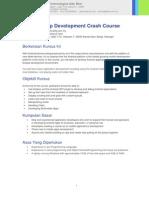 Android Crash Course 3days Altfa.com.my