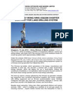 SGX-Listed Viking Wins US$32m Charter Contract for Land Drilling System