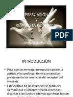 3° CLASE TEORIA DE LA PERSUACIÓN