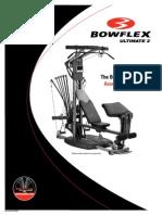 Bowflex Ultimate 2 Use Manual