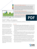 SAS Office Analytics Fact Sheet