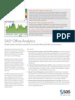 SAS Office Analytics Fact Sheet