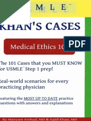 Khans Medical Ethics 101   Medical Specialties   Clinical