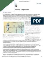 Understanding the Unloading Compensator