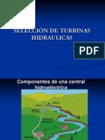 2.- Equipo Electromecánico - Seleccion de Turbinas Hidraulicas.ppt - Luis Quiroz