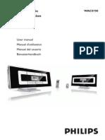 Manual Wac 700 Philips