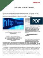 Misterios Ocultos Internet Web Profunda