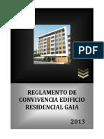 Reglamento de Convivencia Residencial GAIA