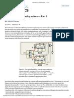 Understanding Unloading Valves — Part 1