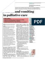 021013 Nausea and Vomiting in Palliative Care