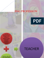 Ctu 082 Chapter 5 Teaching as a Profession
