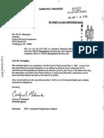 Triad Disclosure Report