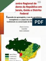Expansao Agronegocio Agrotoxicos Dr. Alvaro Carrara