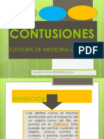 CONTUSIONES- Medicina Legal