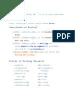 Flashcard Biology