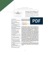 Design Methodologies for Data Warehouses
