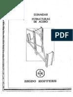 Estandar Estructuras de Acero_Sigdo Koppers
