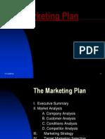 MARK 1031 SS14 Wk 4 PPT - Marketing Plan