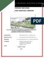 Informe 1 -Almacenje Por Refirgeracion (Gean)