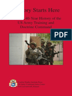 TRADOC Victory Starts Here a Short 40 Year History of the US Army Training and Doctrine Command 01MAY2013