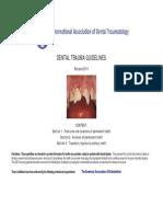 Dental Trauma Guidelines