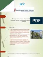 Historia de La Universidad Cesar Vallejo (3)