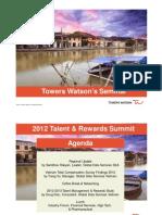 Towers Watson 2012 Talent Rewards Summit - Vietnam